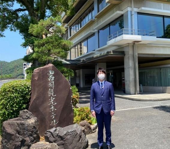岩国国際観光ホテル 深川代表