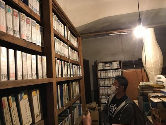 飯塚さんが残した日記・記録の量に圧倒される