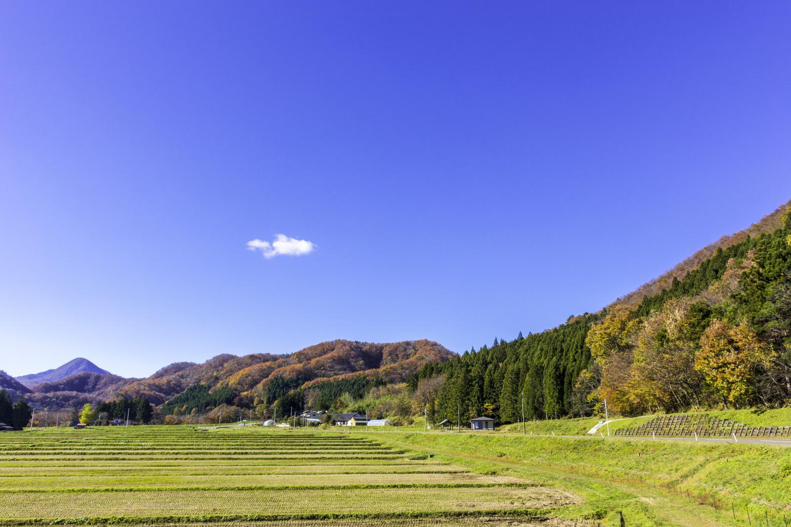 秋保の風景