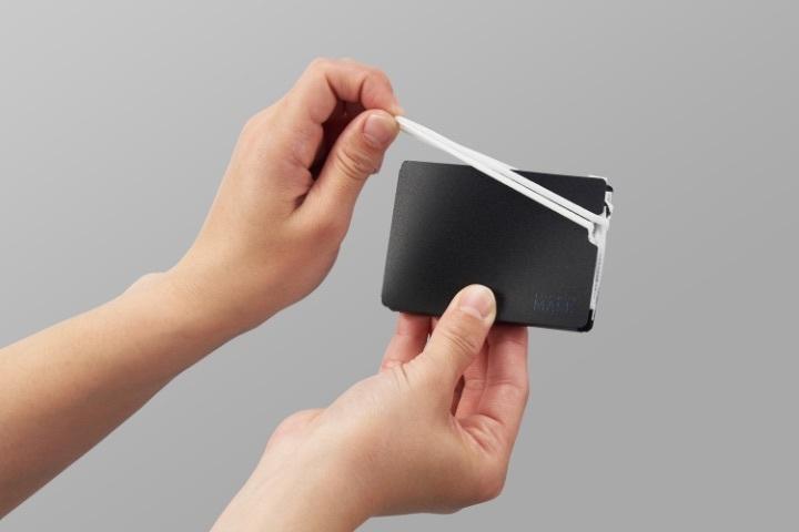 マスク用コンパクト折りたたみケース