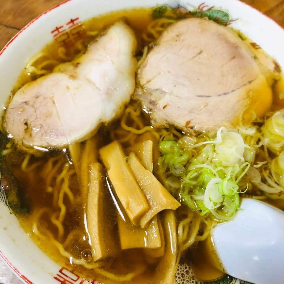 『なかの食堂』のラーメン
