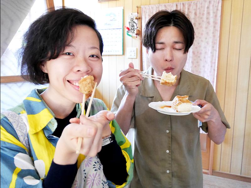 福井微住本「青花魚(サバ)」にも登場した、現地の人でもなかなか食べられない幻の油揚げ屋へ。