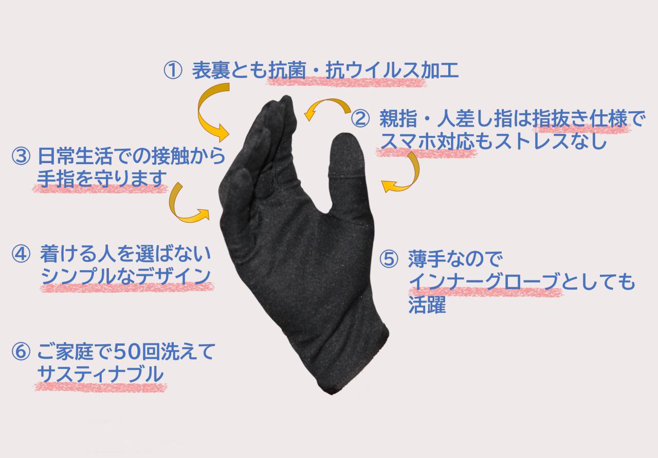 手袋おすすめポイント