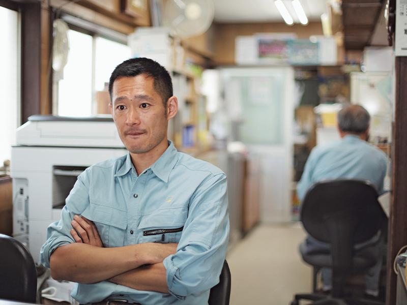 会社の未来を考え『すみだの仕事』を活用した小林亮太さん。