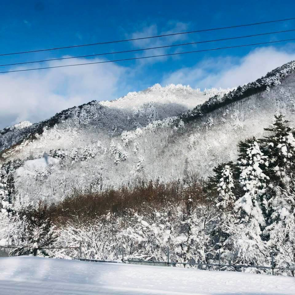 山形新幹線からの車窓