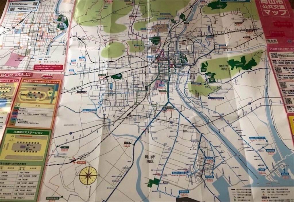 岡山市地図