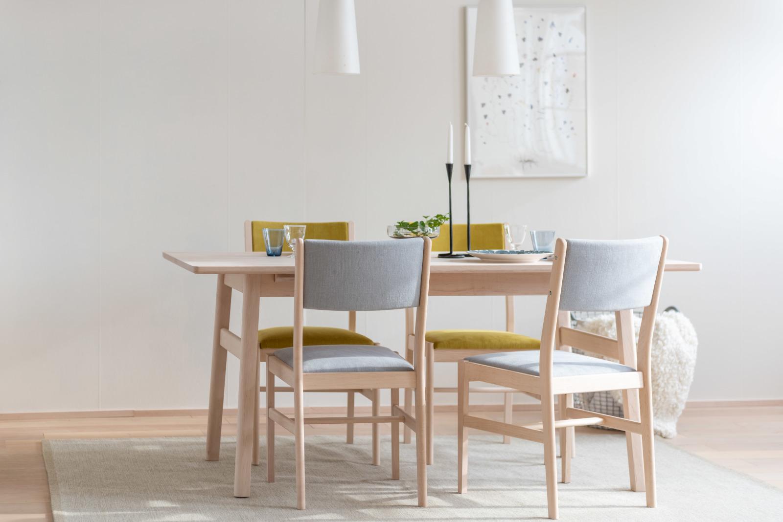 LIM Dining Table & Chair 北海道産イタヤカエデ