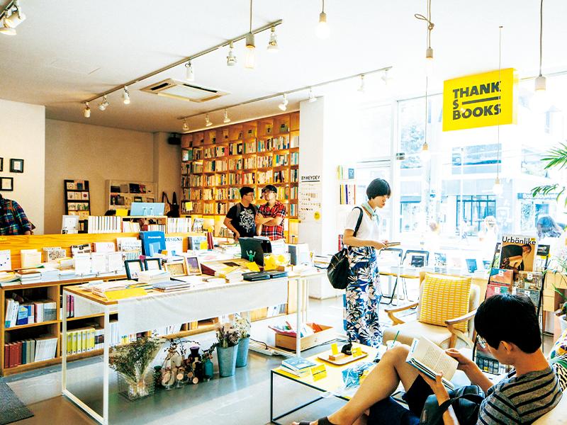 ソウルのセレクト書店のフロントランナーである『THANKS BOOKS』。