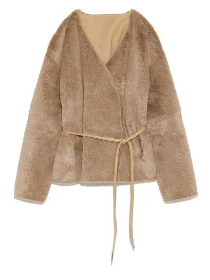 エコファー素材のFRAY I.Dのコート。