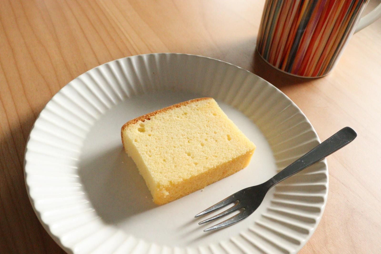 冷やしたケーキ
