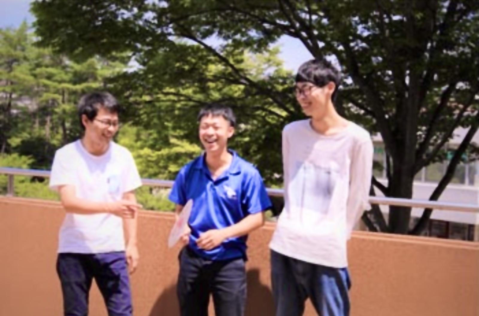 学生団体ひとむすびを設立したメンバーの3人