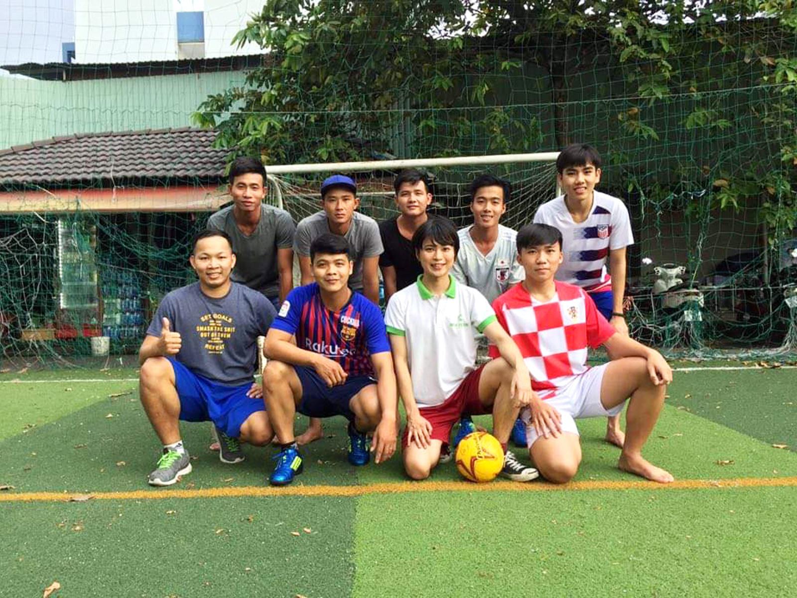 ベトナムのサッカー熱は日本以上。ベトナム代表戦となると国民全員がテレビに釘付け。