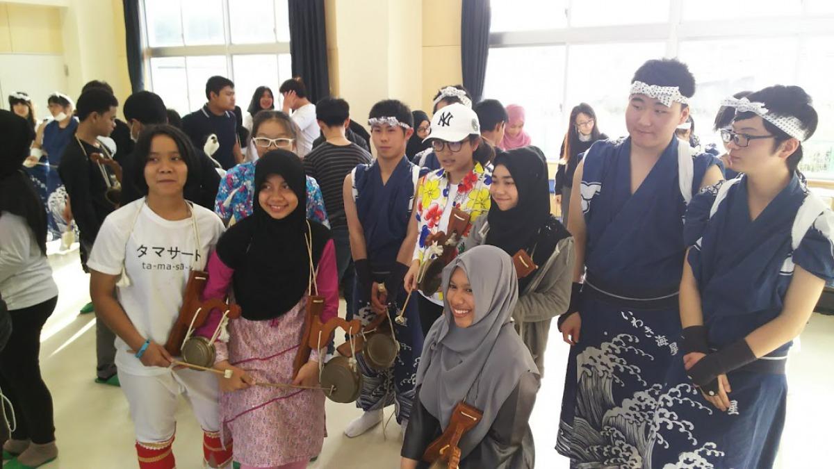 タイの学生との国際交流