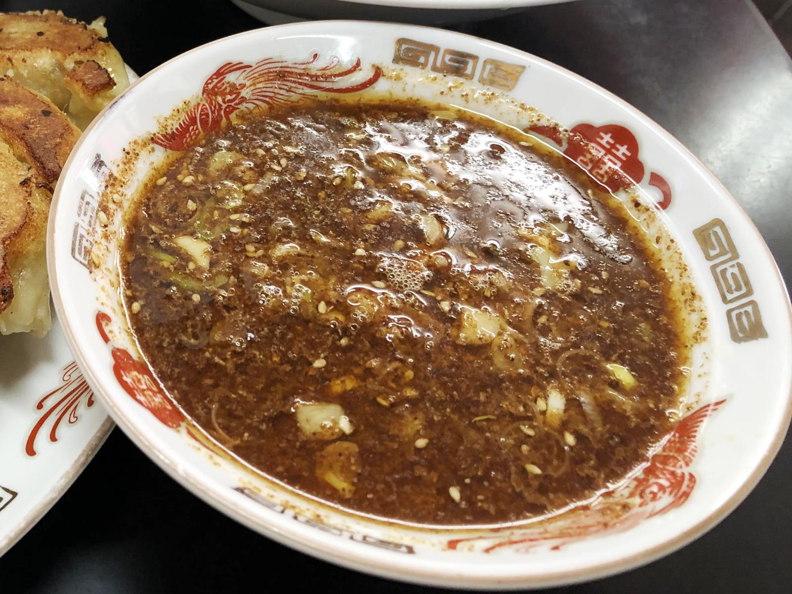 馬賊つけ麺のつけ汁