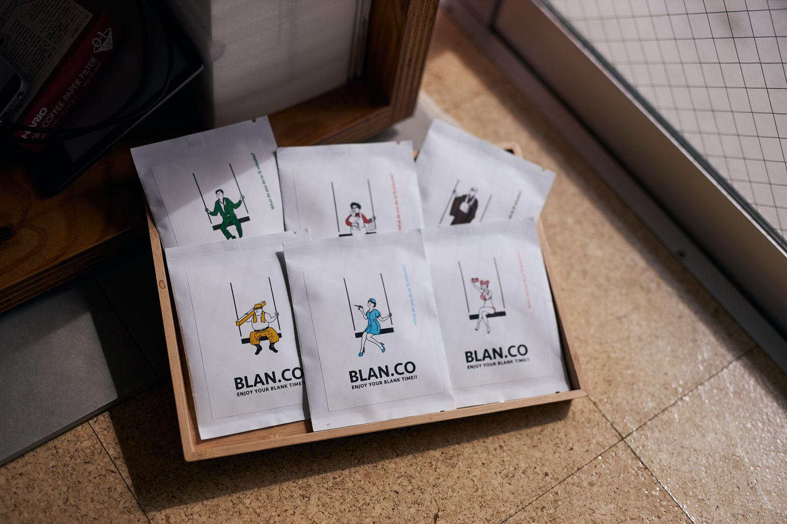 「BLAN.CO」は6種類のコーヒー全種類、または2種類を選び、毎月ドリップパックコーヒーが届く仕組み。