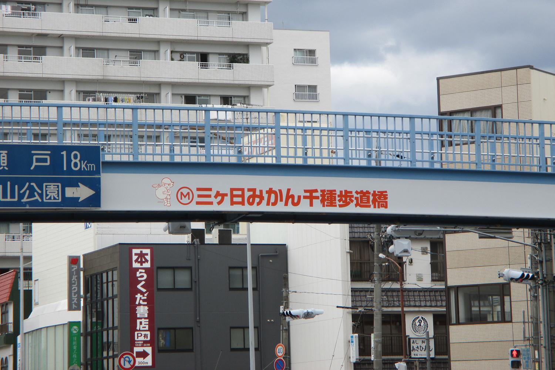 三ヶ日みかん 千種歩道橋