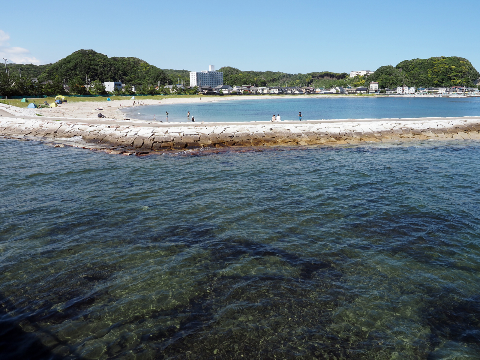興津海水浴場