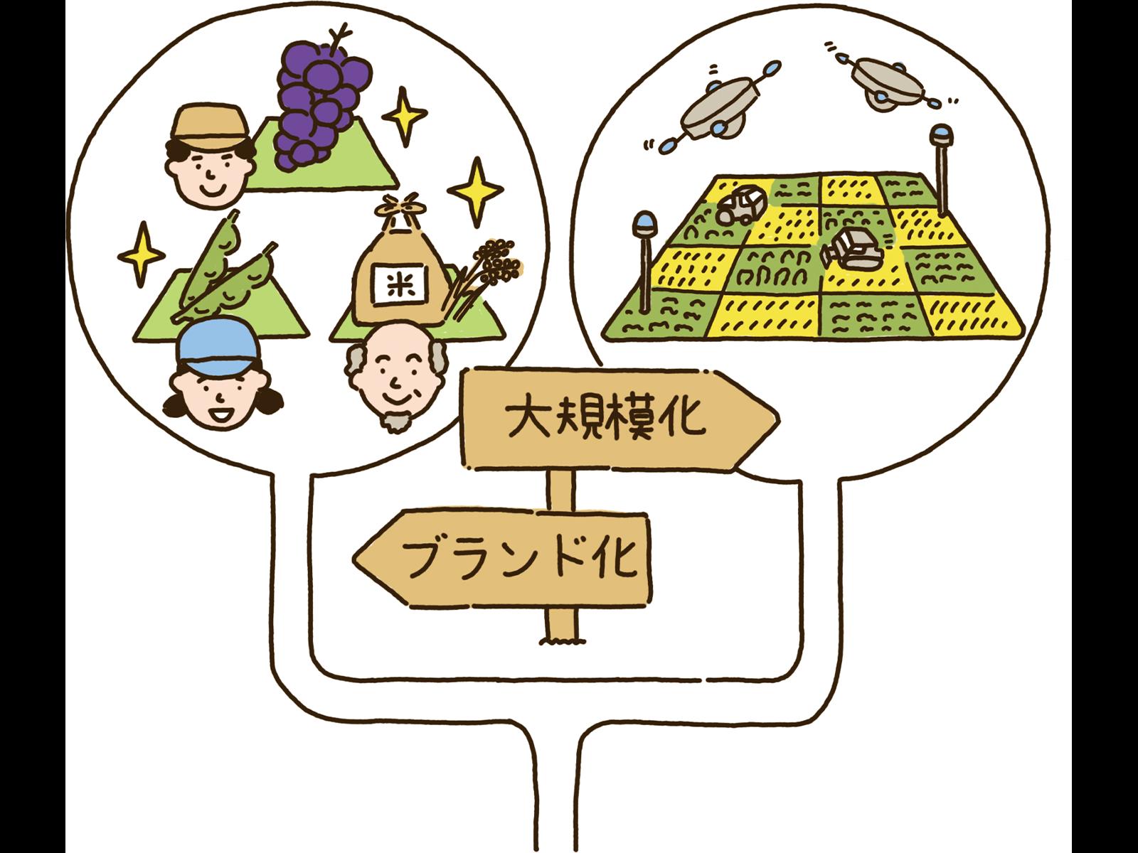日本の農業はこれからどうなっていくのかな?