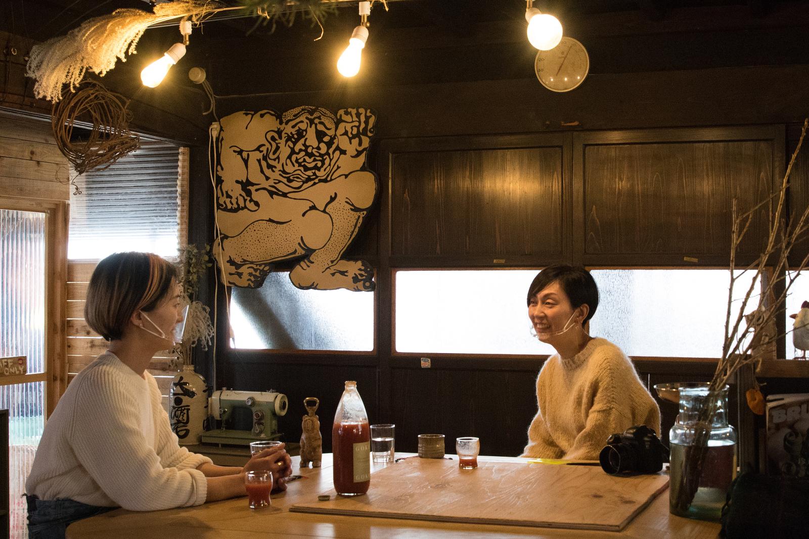 土屋明美さんと中川正子さん