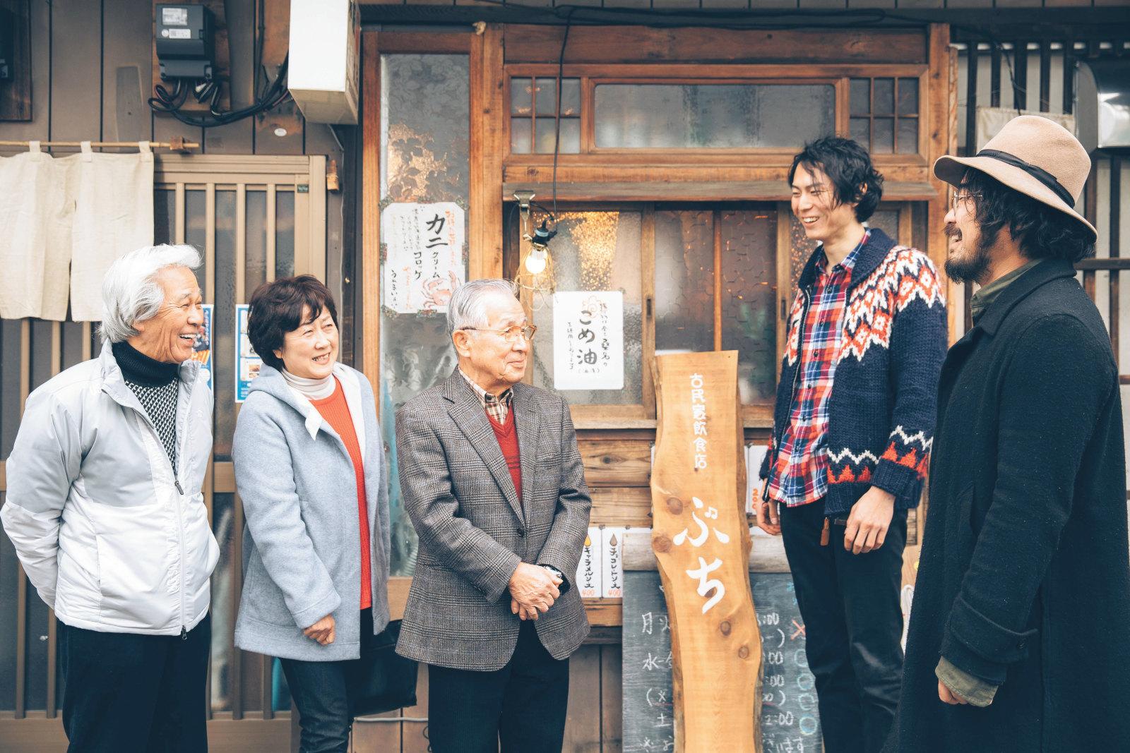 『On-Co』の活動を見守る、名古屋・西区栄生の前自治会長・古橋義兼さん