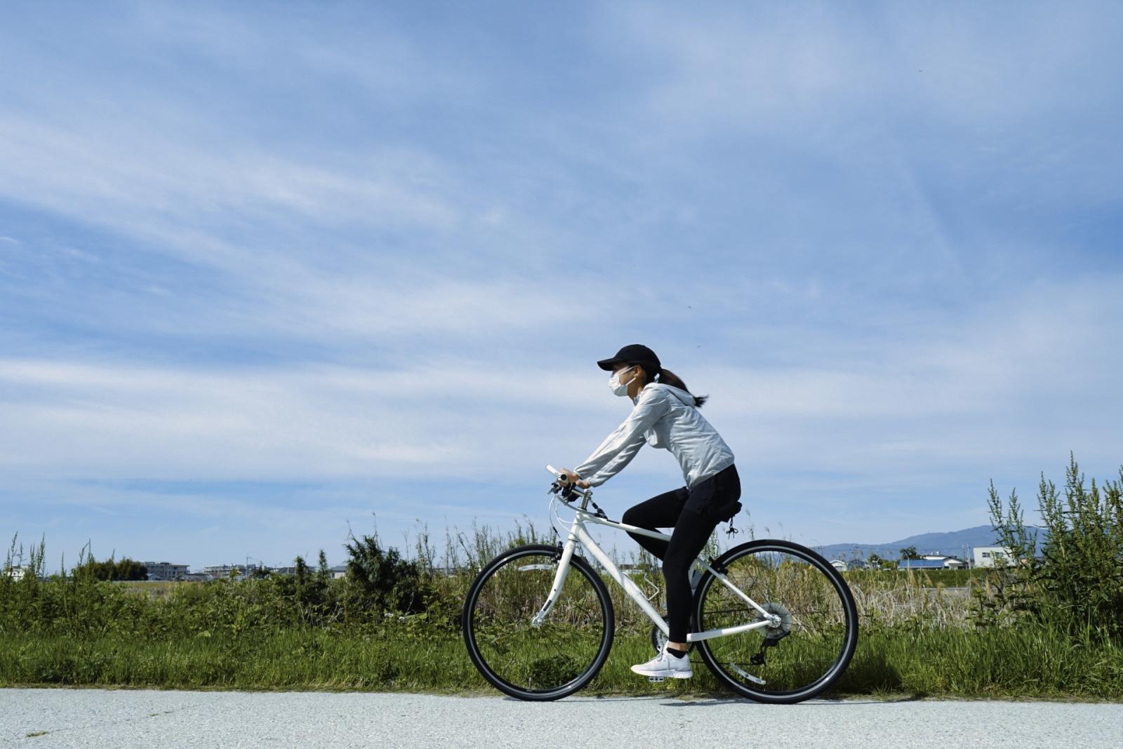 自転車で通勤