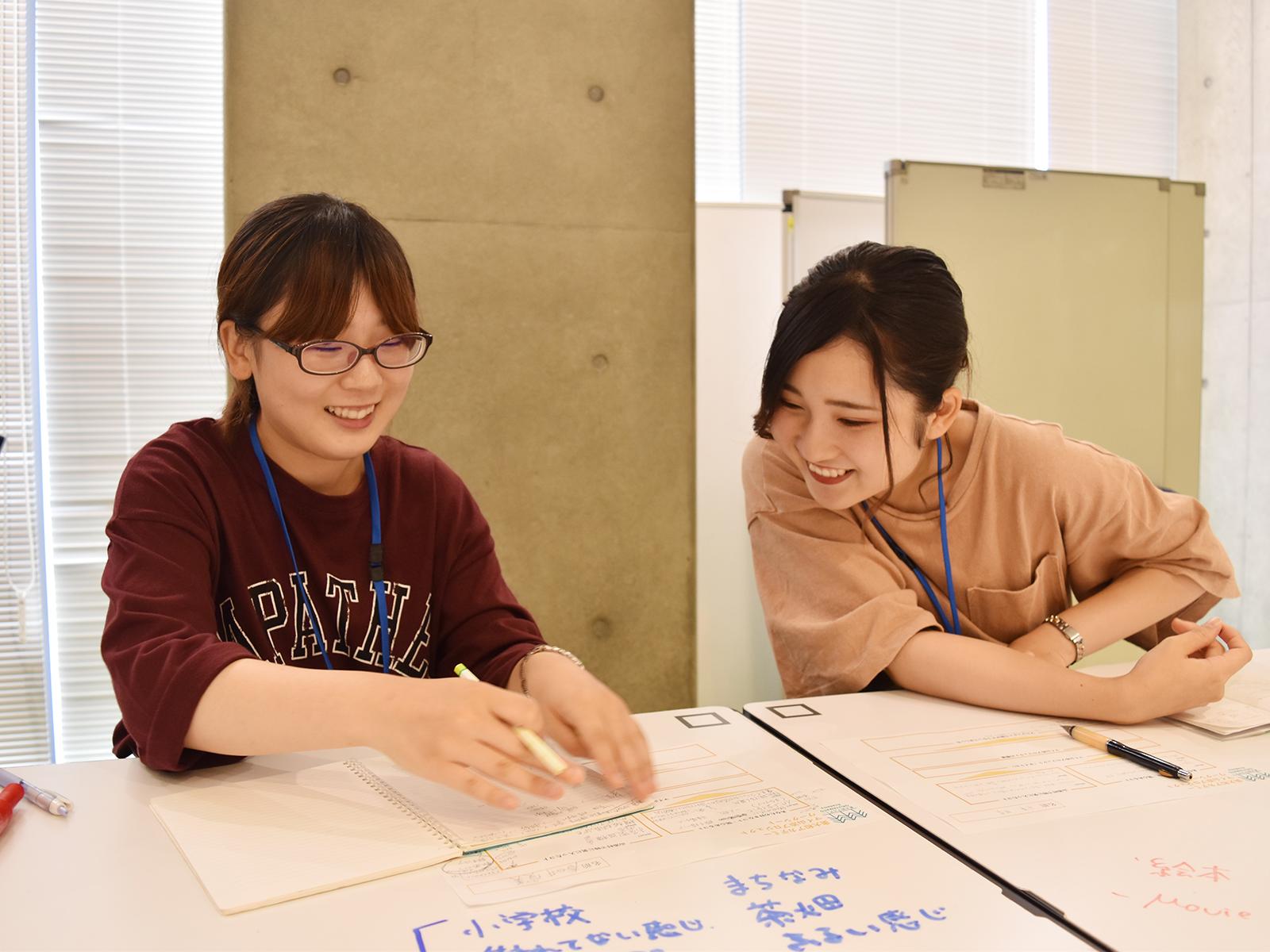 アイディア出しを重ねながら、「マイ山添村プラン」に向き合う受講生たち。