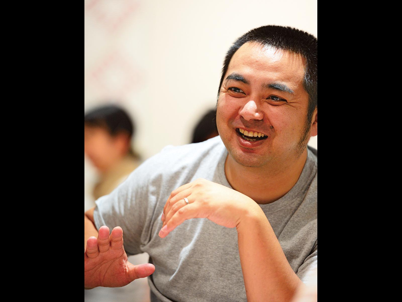メンターの永山さん。受講生にとって兄貴分のような存在だ。