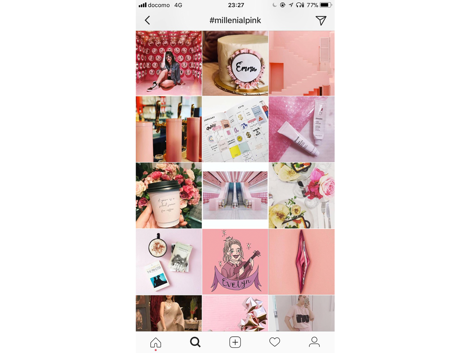 Instagramのハッシュタグ「#millenialpink」には、さまざまなジャンルのかわいいアイテムがたくさん!