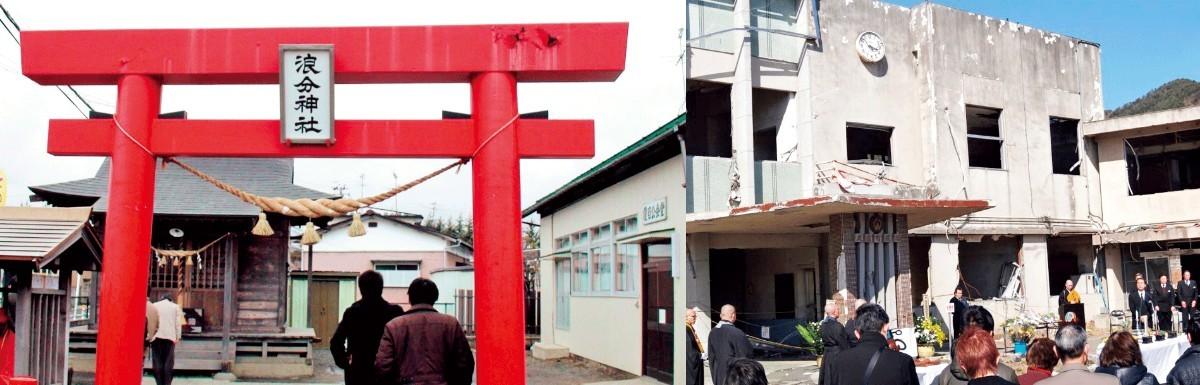 東日本大震災後はたびたび被災地を訪れた