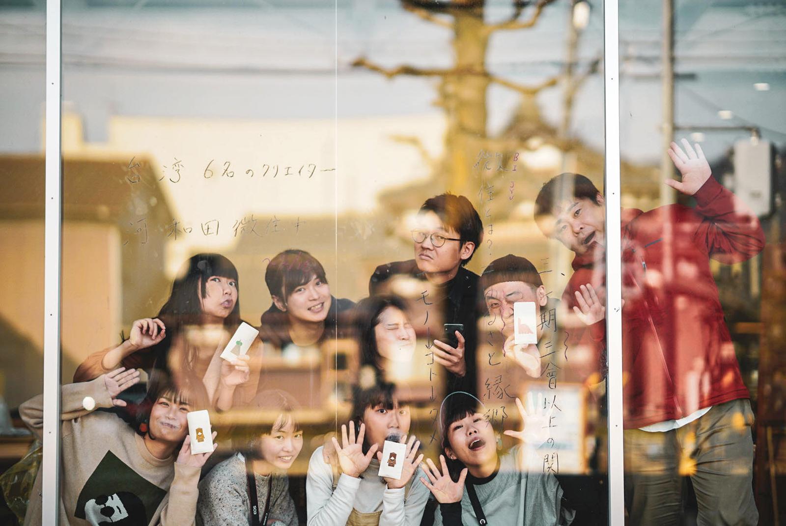 微住者たちもお互い「はじめまして」ばかり。微住後は大阪や京都へ観光に行くそうだ。