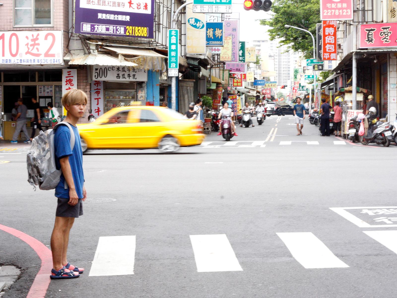 2011年、日本の東日本大震災直後に台湾へ。