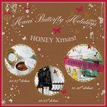 ソックスやオーナメントなどのクリスマスグッズに入ったクリスマスコフレ!ハチミツの美容成分を堪能できるHACCIのクリスマスコフレ