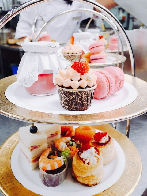 afternoon tea, cupcake, and food by YingAngel   We Heart It (7737)