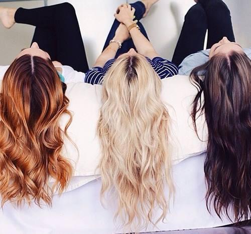 A ginger hair needs a blond, a blond needs a brunette by Sheeris   We Heart It (8832)