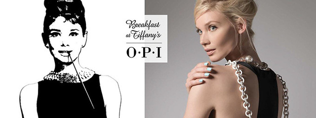 OPIから映画『ティファニーで朝食を』イメージした限定ネイル - ティファニーブルーなど | ニュース - ファッションプレス (13196)