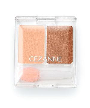 ツーカラー アイシャドウ : 商品ラインナップ : CEZANNE/セザンヌ化粧品 (13340)