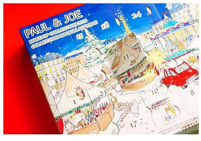 ポール&ジョー 2016年のクリスマスコフレが11/1(火)発売!24個の扉に毎日ワクワク! - ふぉーちゅん (14183)