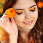 オレンジメイクはヘルシーでかわいらしいイメージ!春☆夏の日差しに映えること間違いなし!!