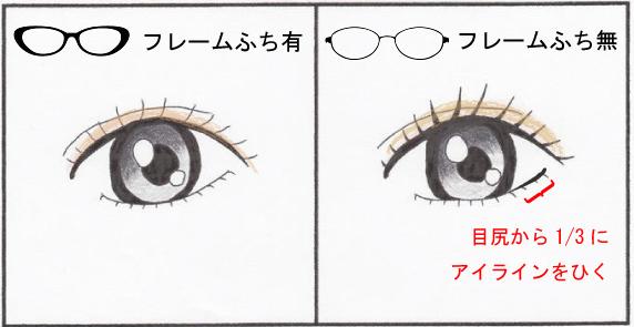 メガネ姿も美しく!フレーム別・眼力アップ「眉メイク&アイメイク」術 | 30代・40代からの美容マガジンLAR (27359)