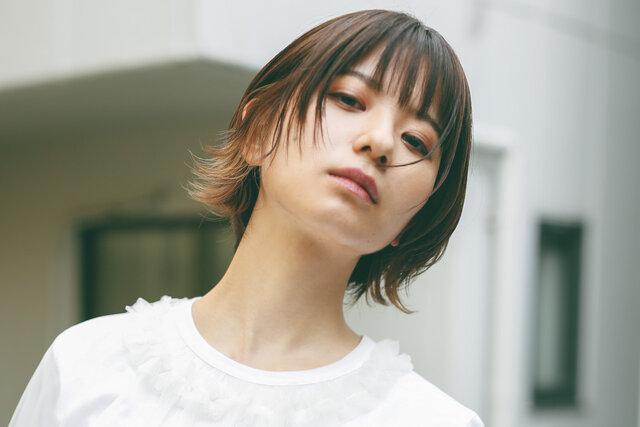 【ade】×暗髪ボブ