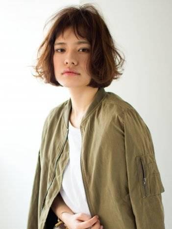 大人★ショートバングボブ/アッシュベージュ