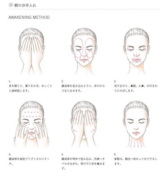 KANEBO BEAUTY WORKSHOP ~AWAKENING METHOD フェイスマッサージ ~