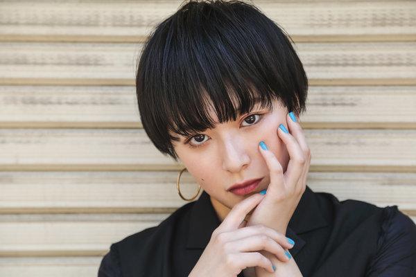 黒髪xモード×ショート|ade omotesando