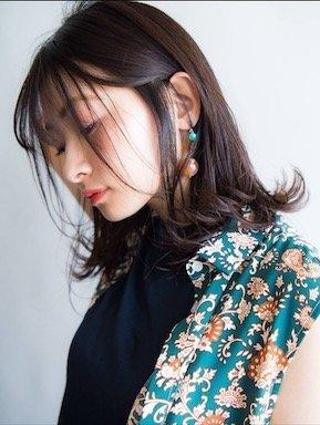 ヌーディー☆外ハネスタイル|keep hair design