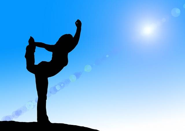 Free illustration: Yoga, Silhouette, Woman, Relaxation - Free Image on Pixabay - 544970 (7415)