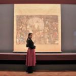 干支にちなんだ犬作品に釘付け!歴史好きモデル・加治まやが東京国立博物館に初もうで