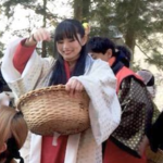 大河ドラマ『真田丸』出演者も登場!小栗さくらの「山家神社節分祭」レポート