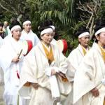 沖縄県・首里城公園で琉球王国時代の祭り「百人御物参」が再現