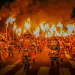 大迫力のたいまつ武者行列!長崎県最大の火祭り「観櫻火宴」が3/31に開催