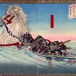 馬に乗ったまま琵琶湖を渡る!?知られざる猛将、明智秀満とは!